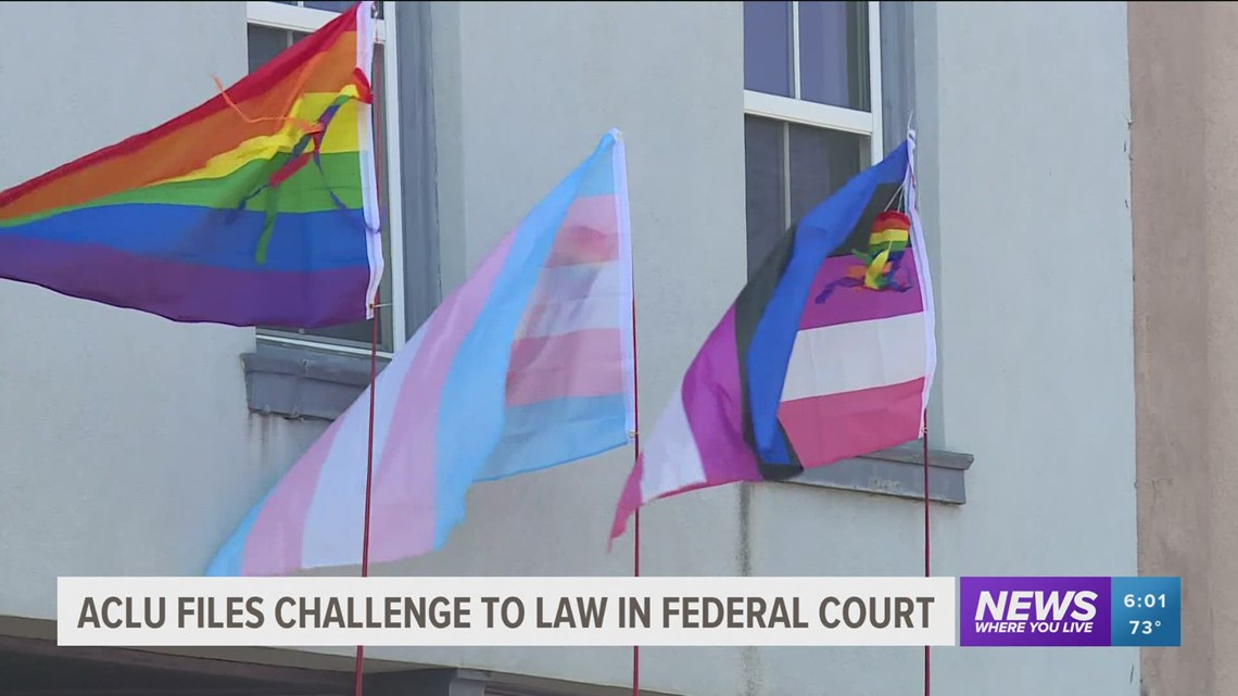ACLU lawsuit challenges Arkansas trans youth treatment ban