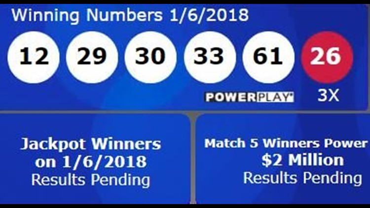 Powerball Winning Numbers 12 29 30 33 61 And Powerball 26 5newsonline Com