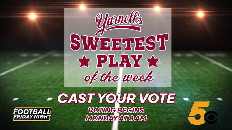 Week 10: Vote for Yarnell's Sweetest Play of the Week