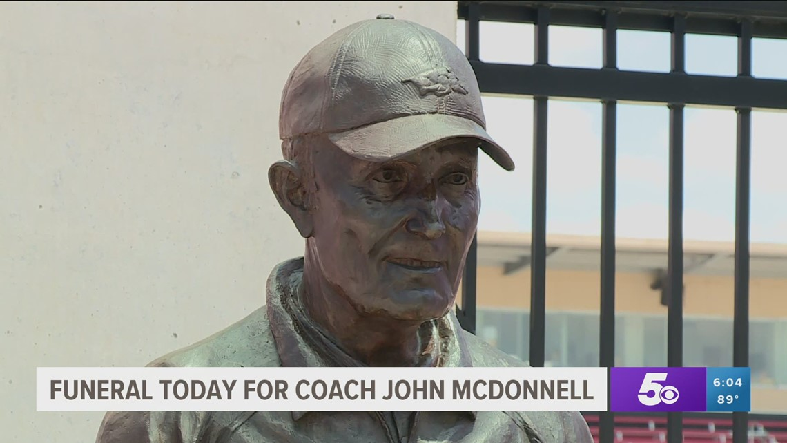 Funeral held for legendary Razorback coach John McDonnell