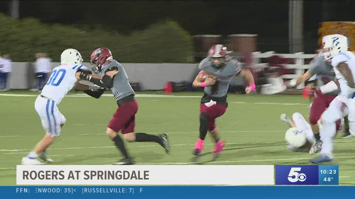 Rogers takes out Springdale