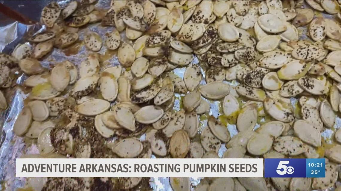 Adventure Arkansas: Cooking Pumpkin Seeds