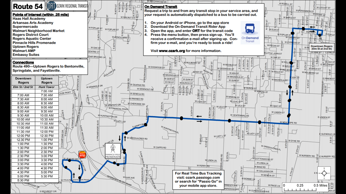 Rogers Teams Up With Ozark Regional Transit To Provide Free Bus Routes 5newsonline Com