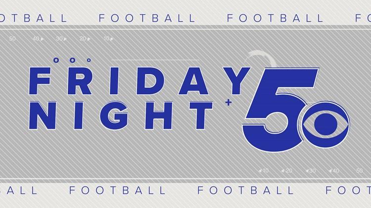 Football Friday Night Scoreboard