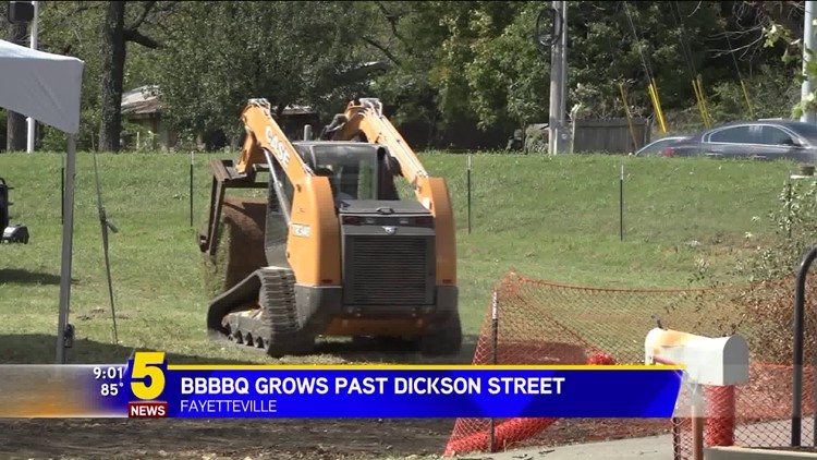 BBBBQ Grows Past Dickson Street
