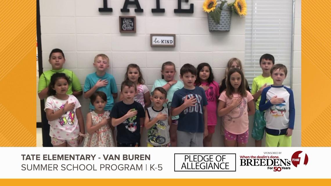 Tate Elementary Van Buren Summer School Program K-5
