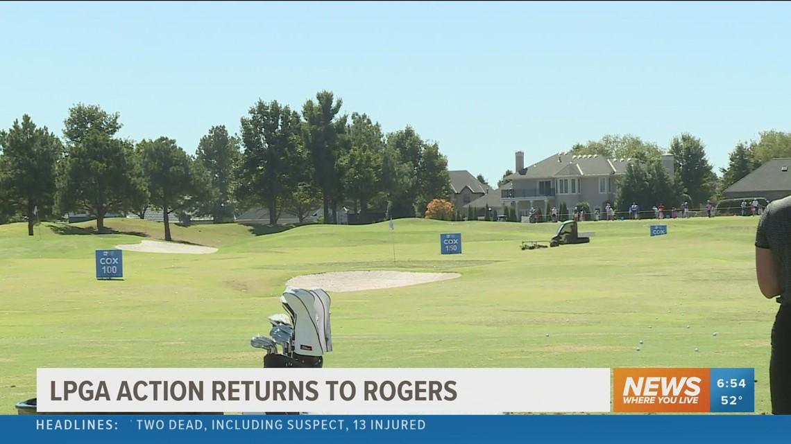 LPGA action returns to Rogers