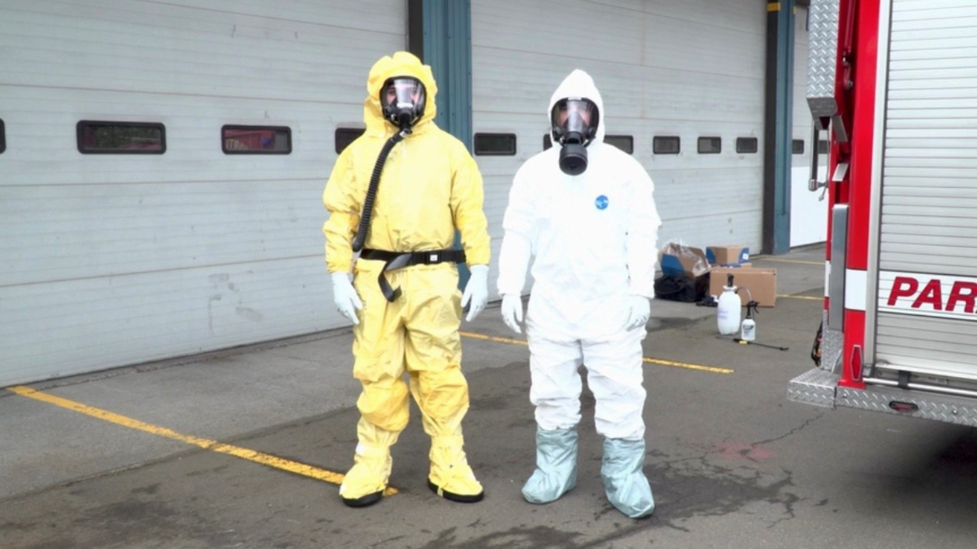 Portland Firefighters Wear Hazmat Suits To Medical Calls Fox61 Com