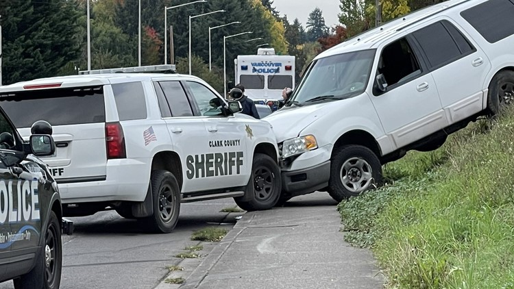 Man with gun killed following car chase in Vancouver, deputies say