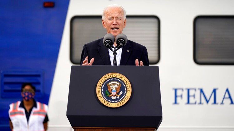 'God's work' | President Biden praises emergency workers during Houston visit, gives vaccine update