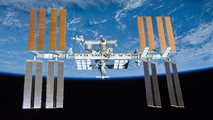 Astronauts prepare International Space Station for new solar wings