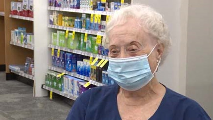 81-year-old woman has been with CVS longer than any other employee