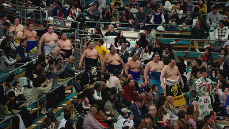 The grand Japanese sport of Sumo