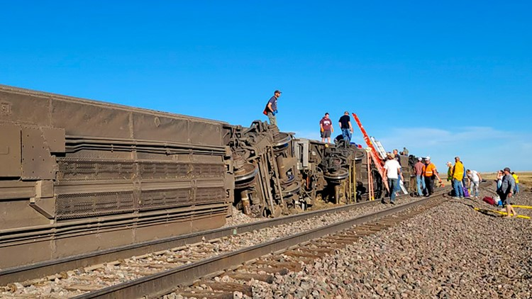 'Your heart hurts': 3 dead after train bound for Seattle derailed in Montana