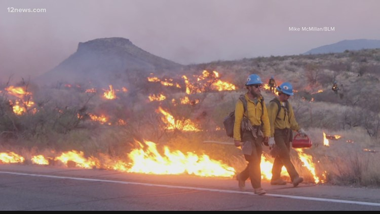 These are all the road and national forest closures due to wildfire activity in Arizona