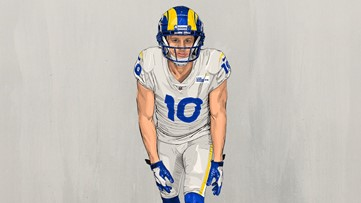 Cooper Kupp Switches Nfl Jersey Number To Old Number At Eastern Weareiowa Com