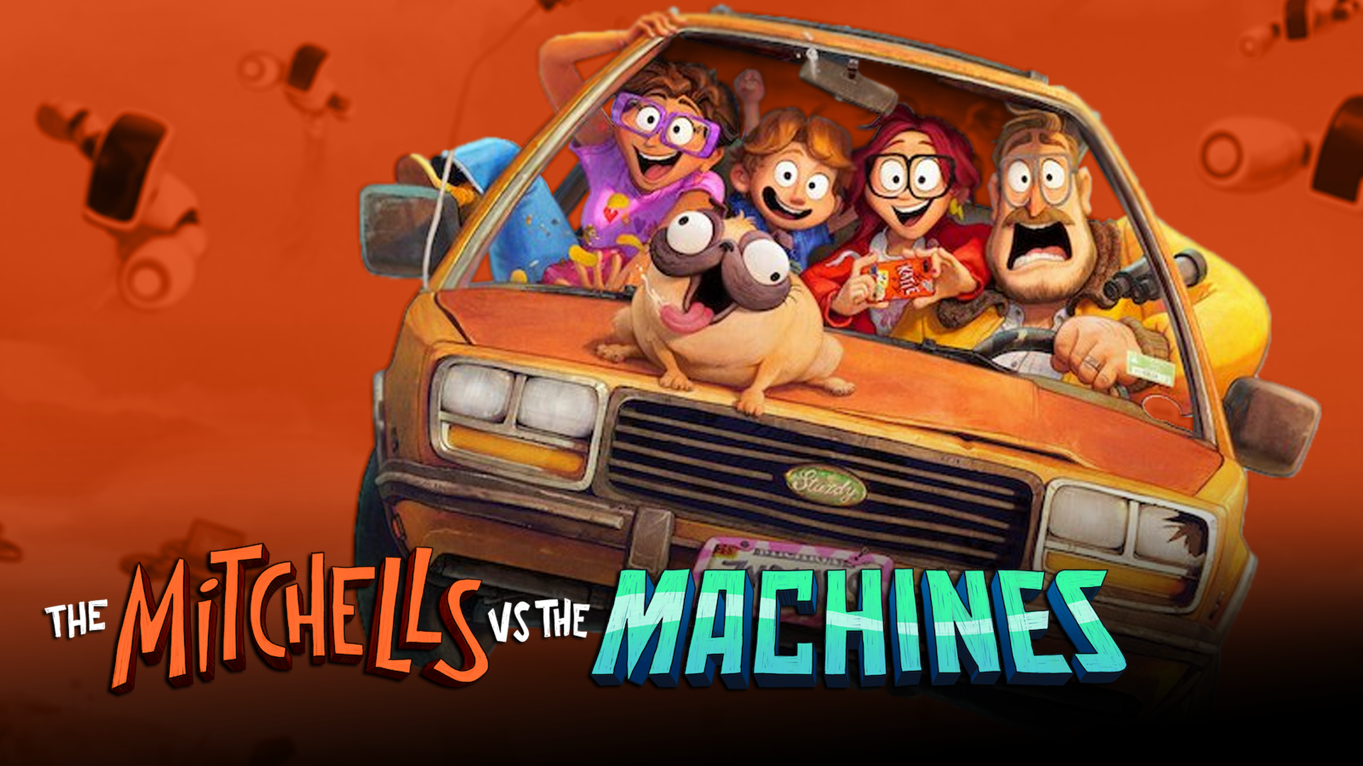 The Mitchells vs The Machines is just downright fun