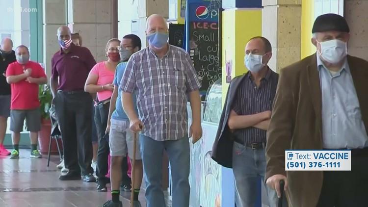 Arkansas reaches 40% full vaccination rate