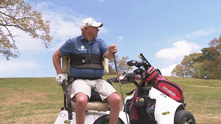 Arkansas man becomes #1 ranked seated golfer in the U.S. 20 years after tragedy
