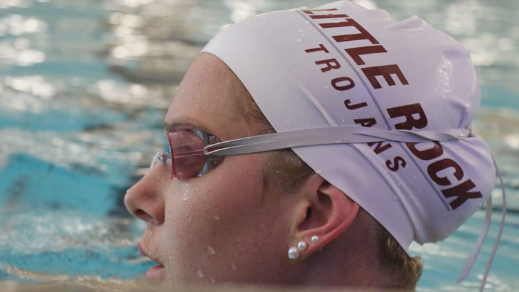 UALR athlete breaks 4 swimming records two years after fighting in Israeli Army
