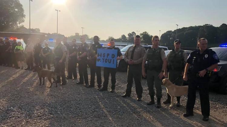 Law enforcement surprises son of fallen officer on first day of kindergarten