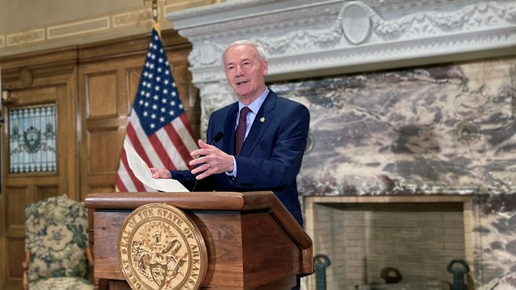 Arkansas congressional redistricting bills to go into law without governor's signature