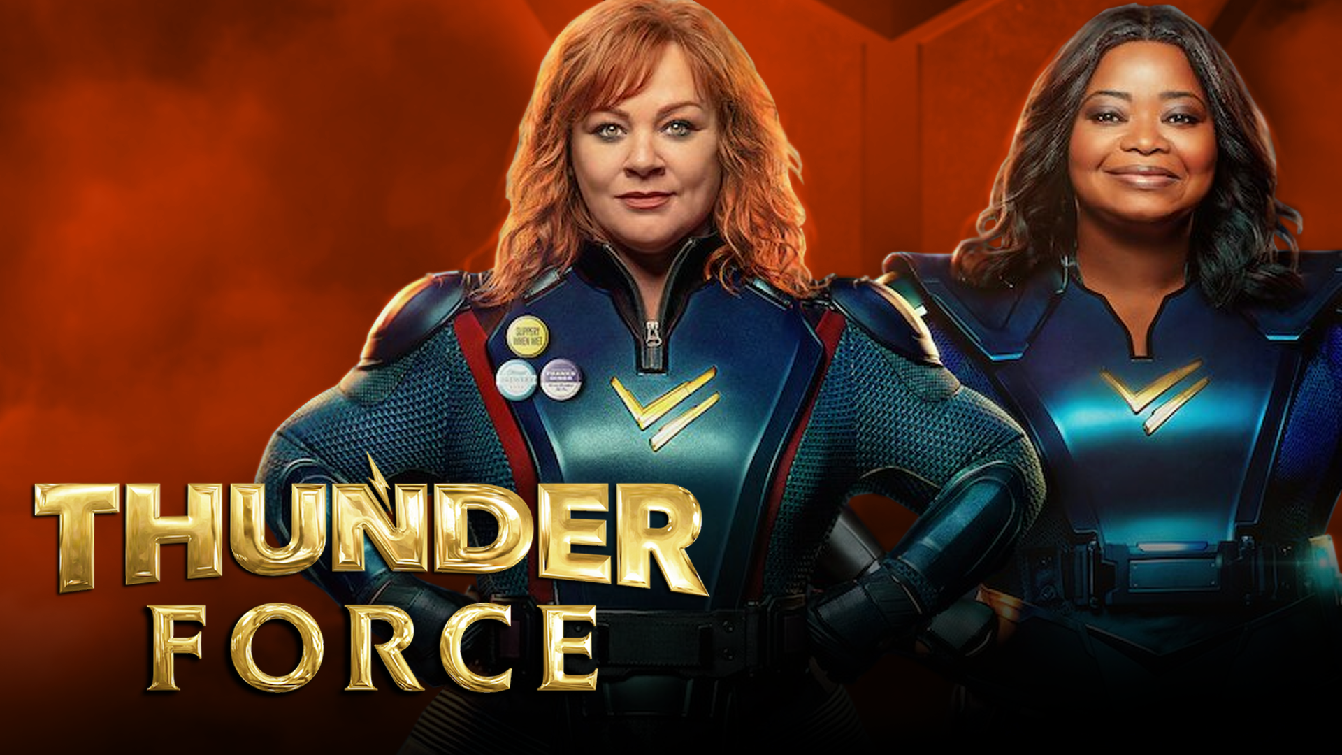 Thunder Force is kind of a weird, not that great movie