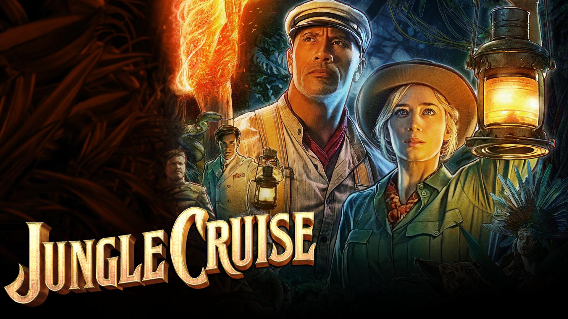 Jungle Cruise is weird, but fun