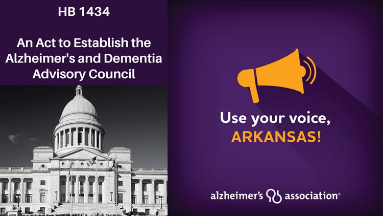 Arkansas House advances bill to prioritize response to Alzheimer's and Dementia