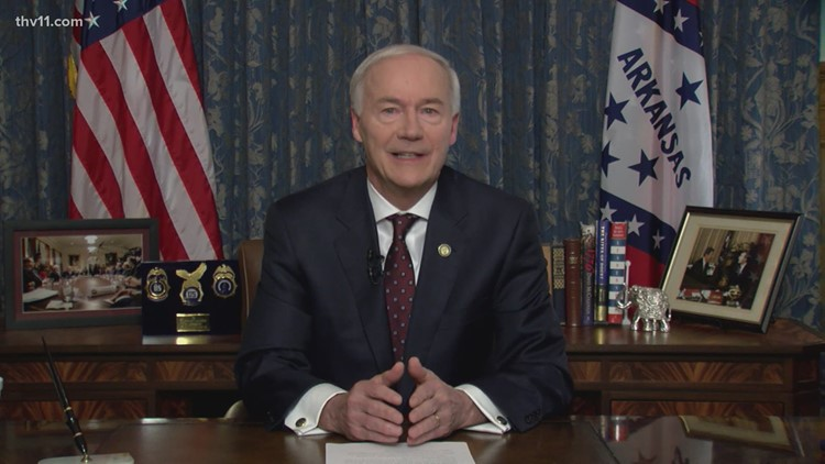 Gov. Hutchinson signs alternative hate crimes bill