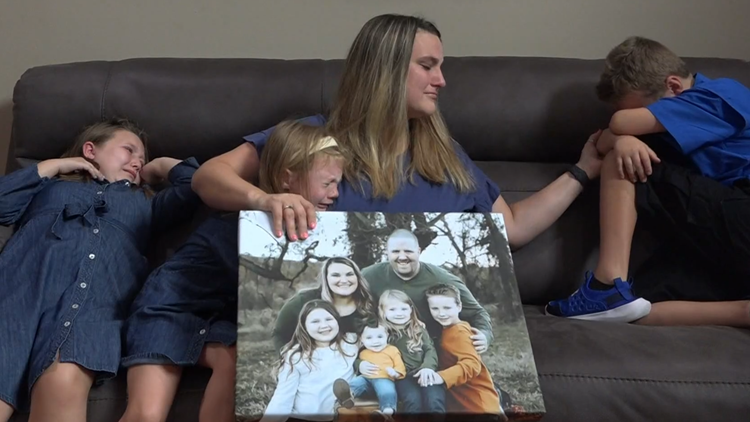 Arkansas mother of four copes with loss of husband due to COVID-19