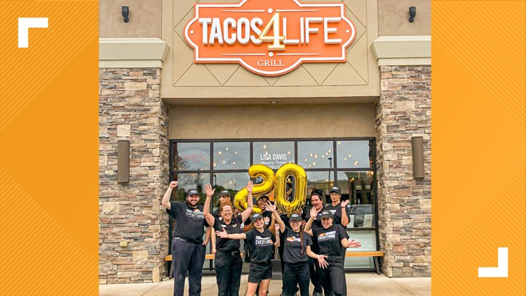 Tacos 4 Life has donated 20 million meals to children in need
