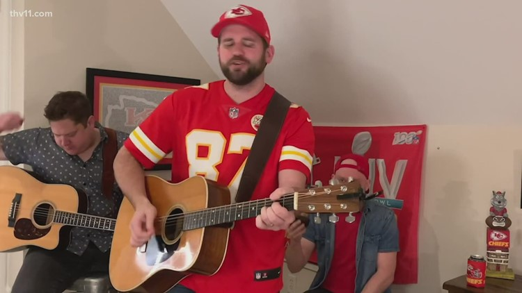 Hot Springs musician created song that's going viral in Chiefs Kingdom