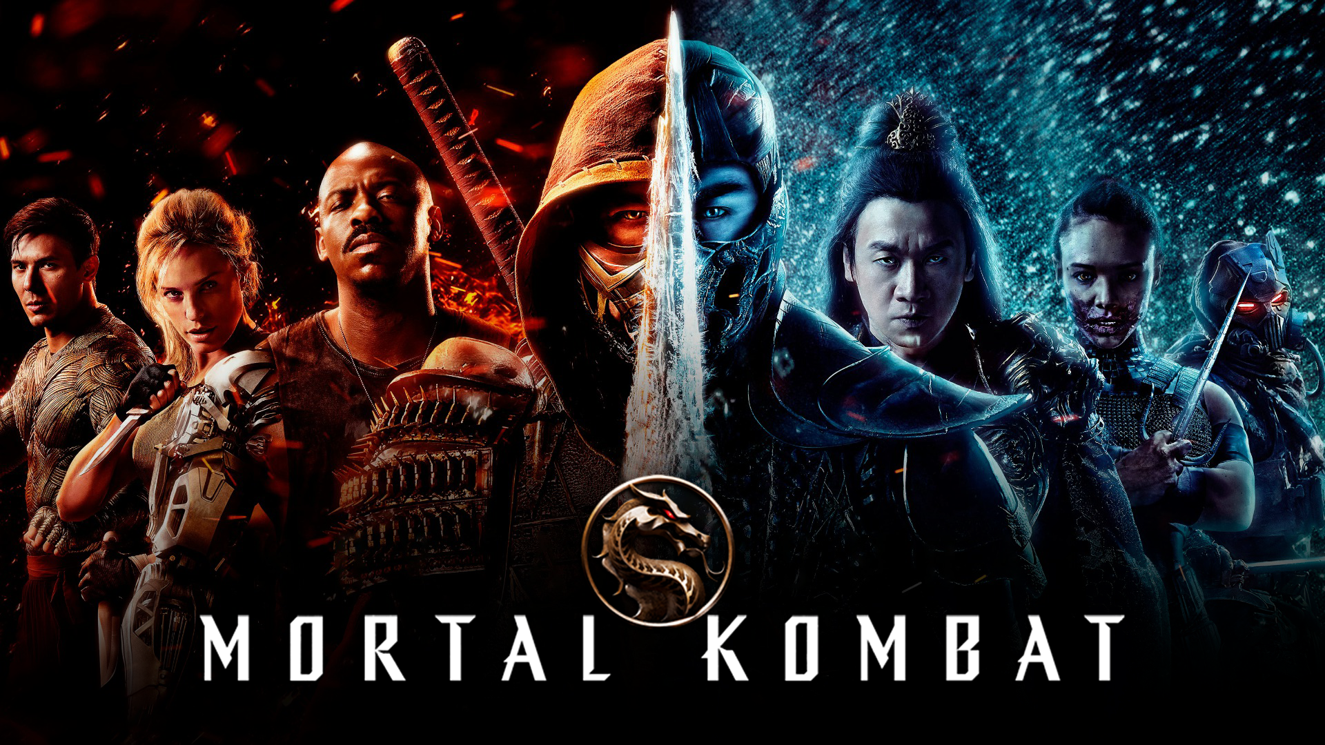 Mortal Kombat is faithful to the game series but somehow mostly boring