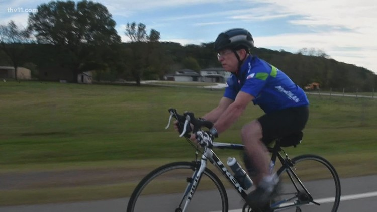 Arkansas man with terminal cancer cycling 444-mile  Natchez Trace Parkway to help fund a cure