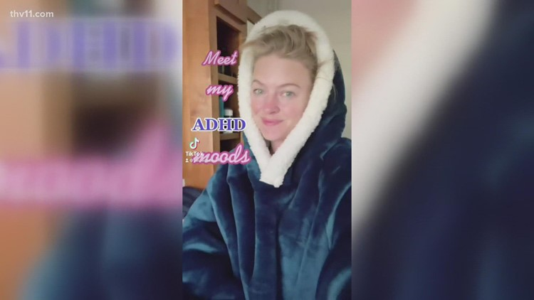 Arkansas mom's TikTok videos go viral after late ADHD diagnosis