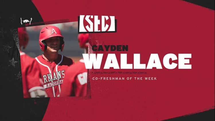 Wallace named SEC co-freshman of the week
