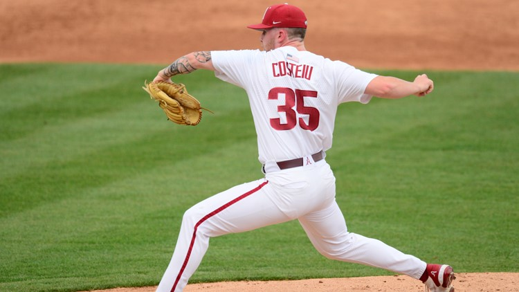 Ryan Costeiu third Razorback drafted, selected by Angels in 7th round