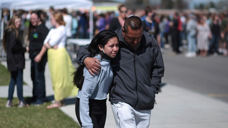 3 injured in Idaho middle school shooting; suspect captured
