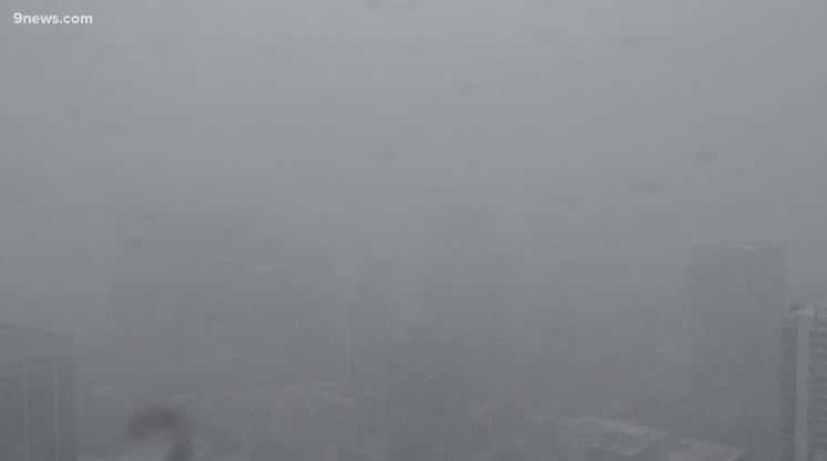 WATCH LIVE: Snow and rain in Colorado
