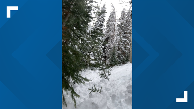 Snowboarder rescued after being completely buried in avalanche near Vail