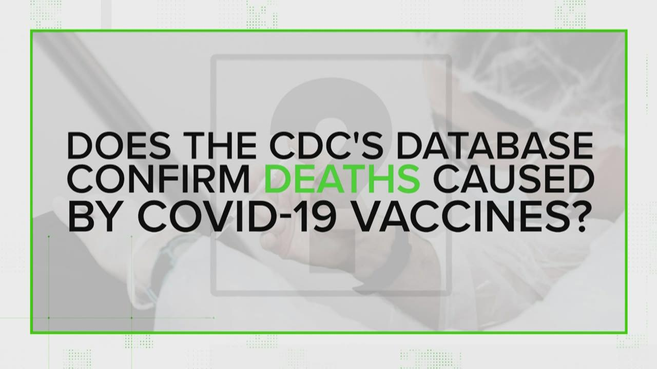 VERIFY: Who has died from getting a COVID vaccine