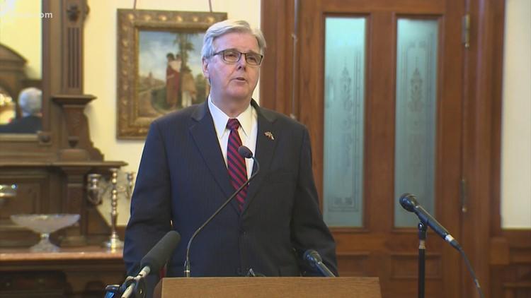 Report: Texas Lt. Gov. Dan Patrick hands out first voter fraud reward