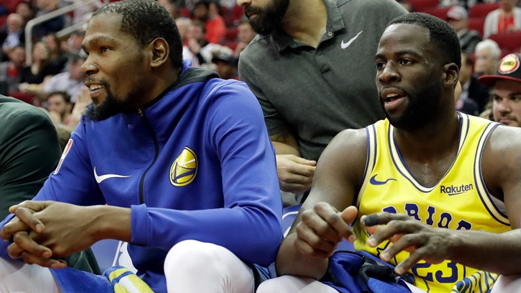 Kevin Durant, Draymond Green blame Steve Kerr, Bob Myers for Warriors fallout