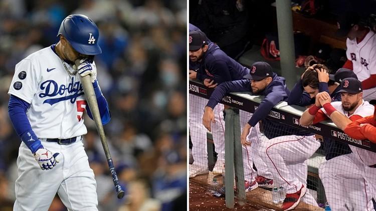 MLB Playoffs: Dodgers, Red Sox suddenly on brink of elimination