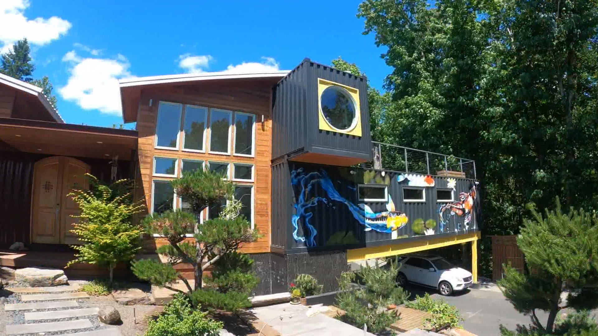Home made of shipping containers listed for $2 million