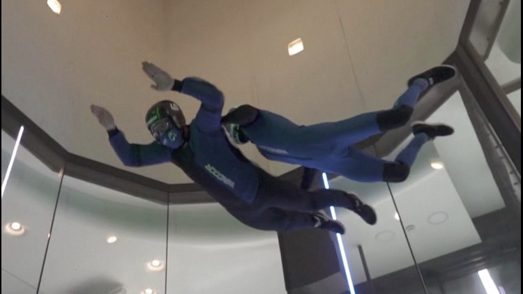 Indoor Skydiving Swoons Visually Impaired Thrill Seekers