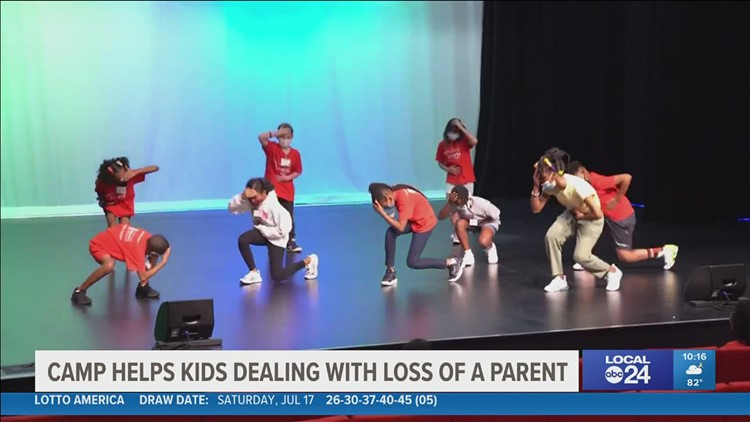 Memphis Orpheum uses arts to help kids with pain of losing parents