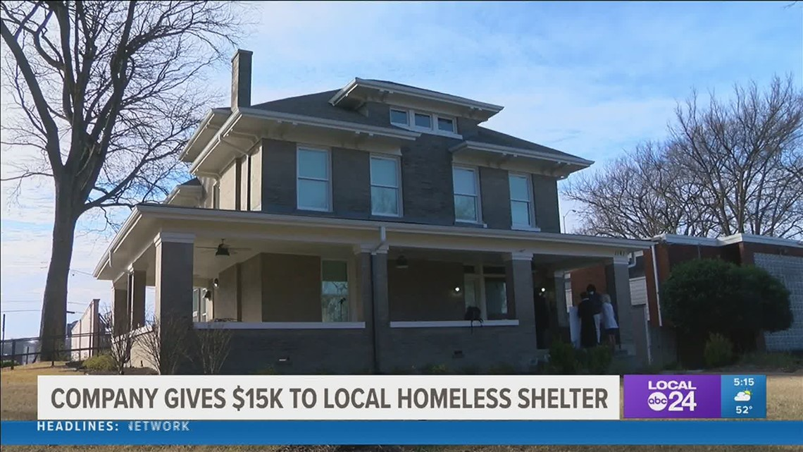 Hunter Fan Company makes big donation to help the homeless in Memphis