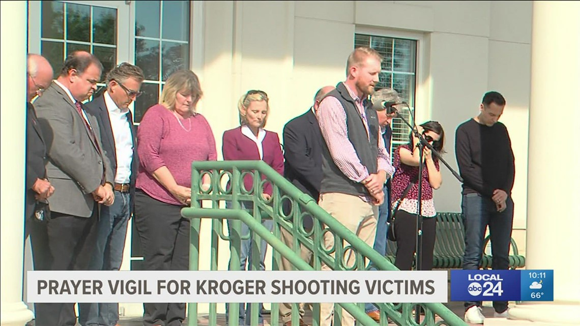 Kroger shooting victim shares moments inside store during rampage at community vigil